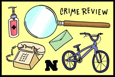 Crime review art