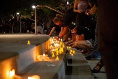 Candlelight Vigil Photo No. 9