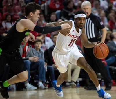 Nebraska Basketball vs. Michigan State Photo No. 5