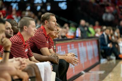 Fred Hoiberg looks on from the bench
