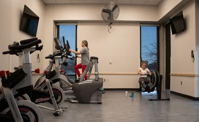 Newly Installed Fitness Room in Abel/Sandoz Hall