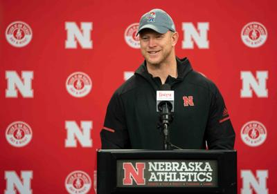Scott Frost at Podium