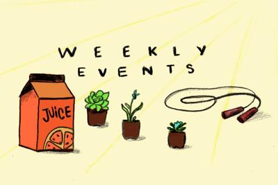 Weekly events Oct. 14-20