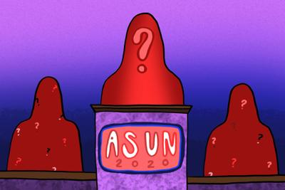 ASUN Q and A art