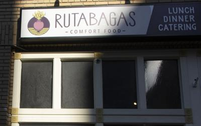 Store front of Rutabagas