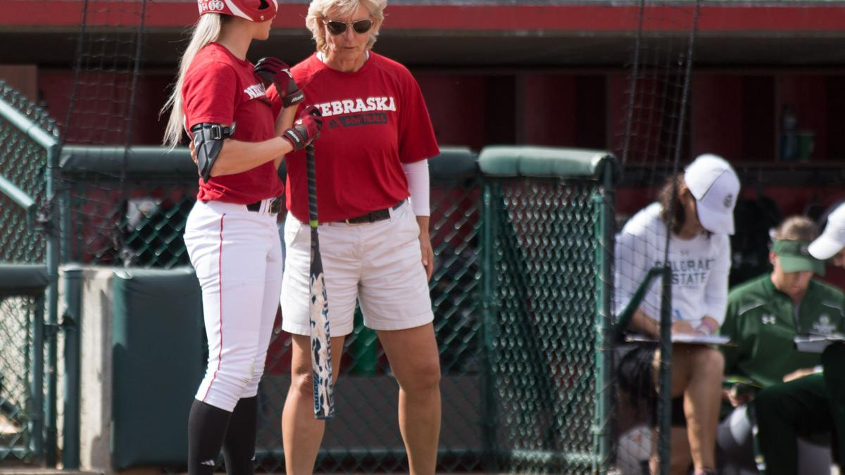 Nebraska softball coach Rhonda Revelle placed on administrative leave
