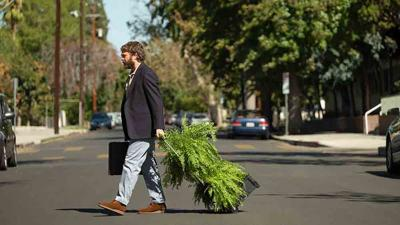 Zach Galifianakis On Set of 'Between Two Ferns: The Movie'