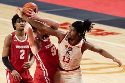 Nebraska Basketball vs. Wisconsin Photo No. 9