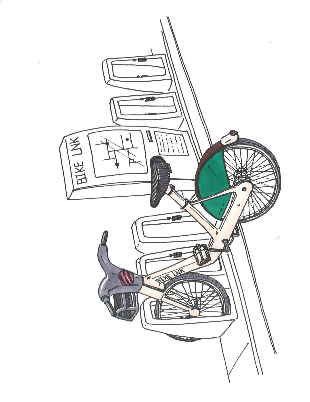 Ellis Bike Lnk Provides Eco Friendly Transportation Option