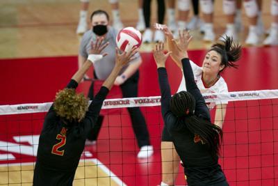 Nebraska Volleyball vs. Maryland Photo No. 11
