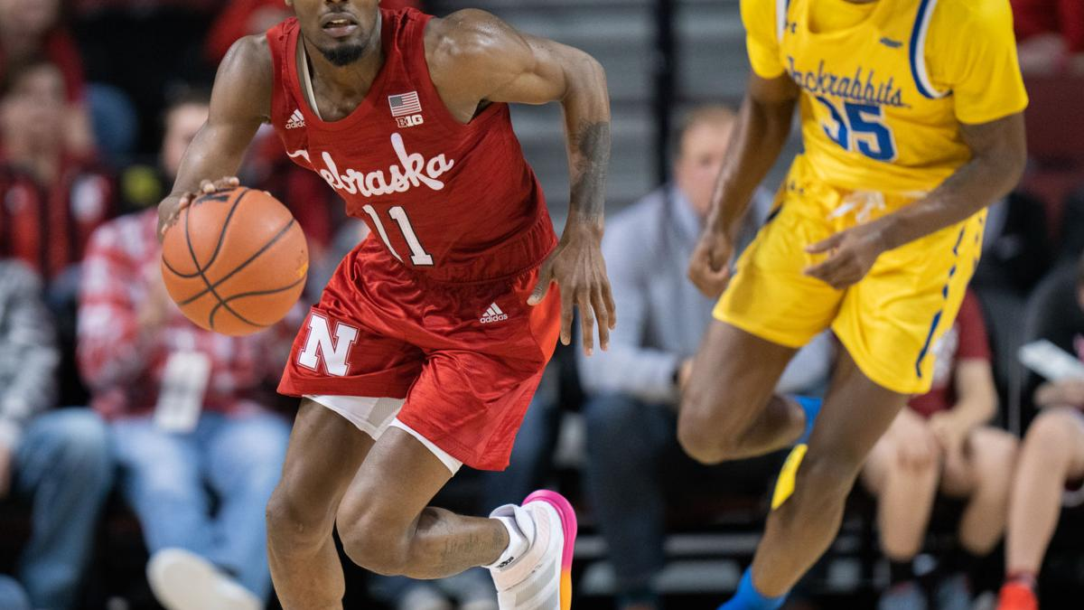 Short-handed Huskers fall valiantly at Indiana