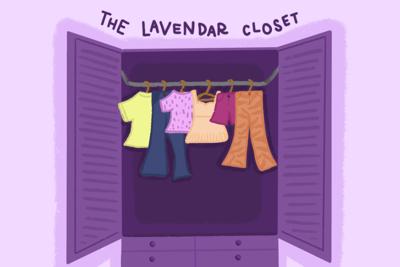 Lavender Closet art