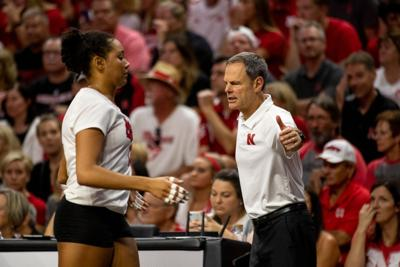 John Cook and Jazz Sweet during match against Stanford