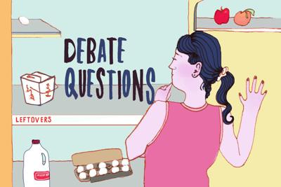 Leftover ASUN Debate Questions Art