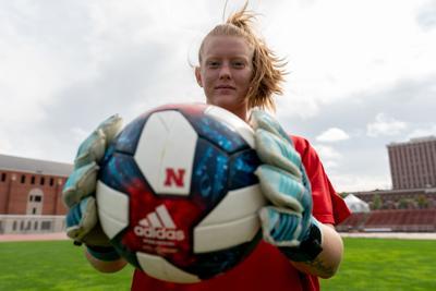 Aubrei Corder Husker soccer goalkeeper