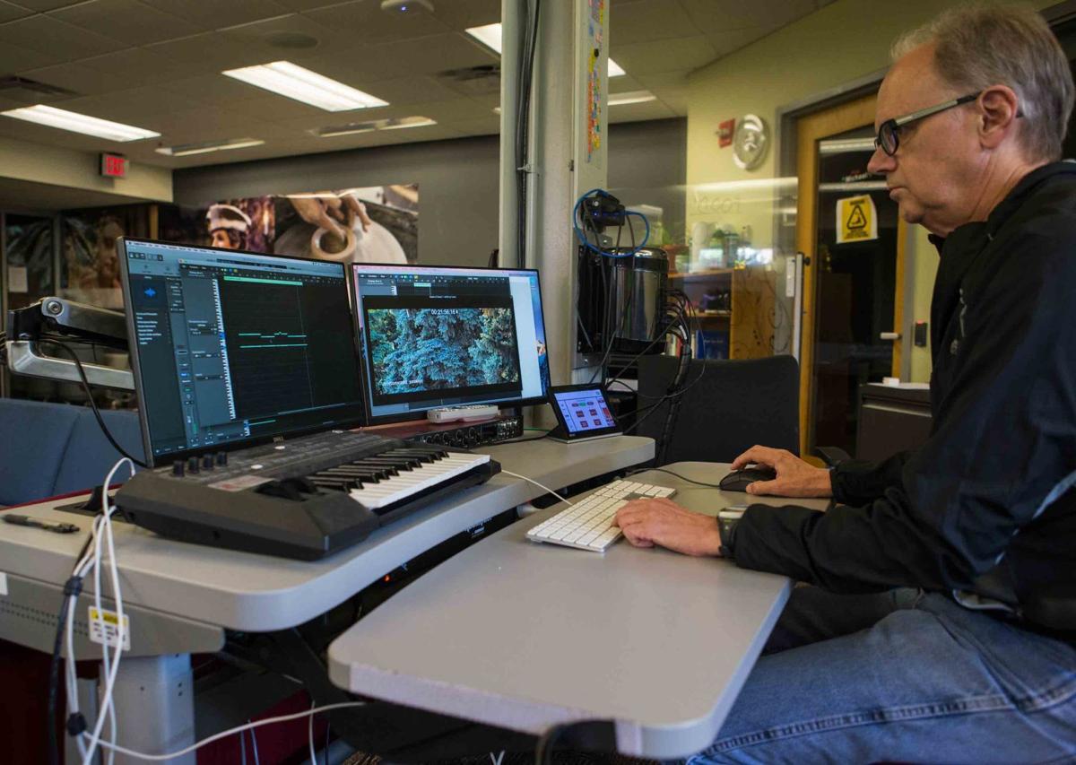 Tom Larson at the DAI lab