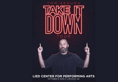 Tom Segura's 'Take It Down' Tour Poster
