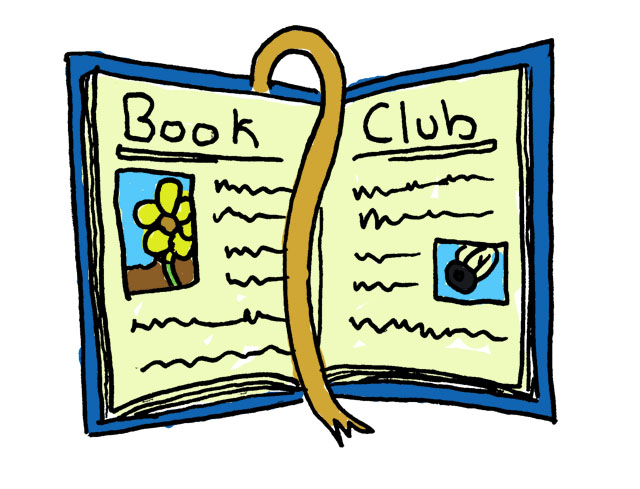lincoln s book clubs expose residents to literature good rh dailynebraskan com book club clip art images