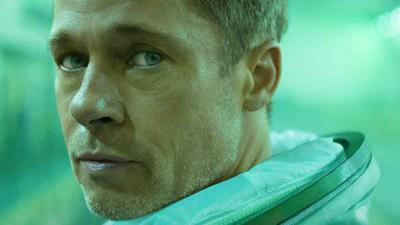 Brad Pitt still for 2019 film, Ad Astra