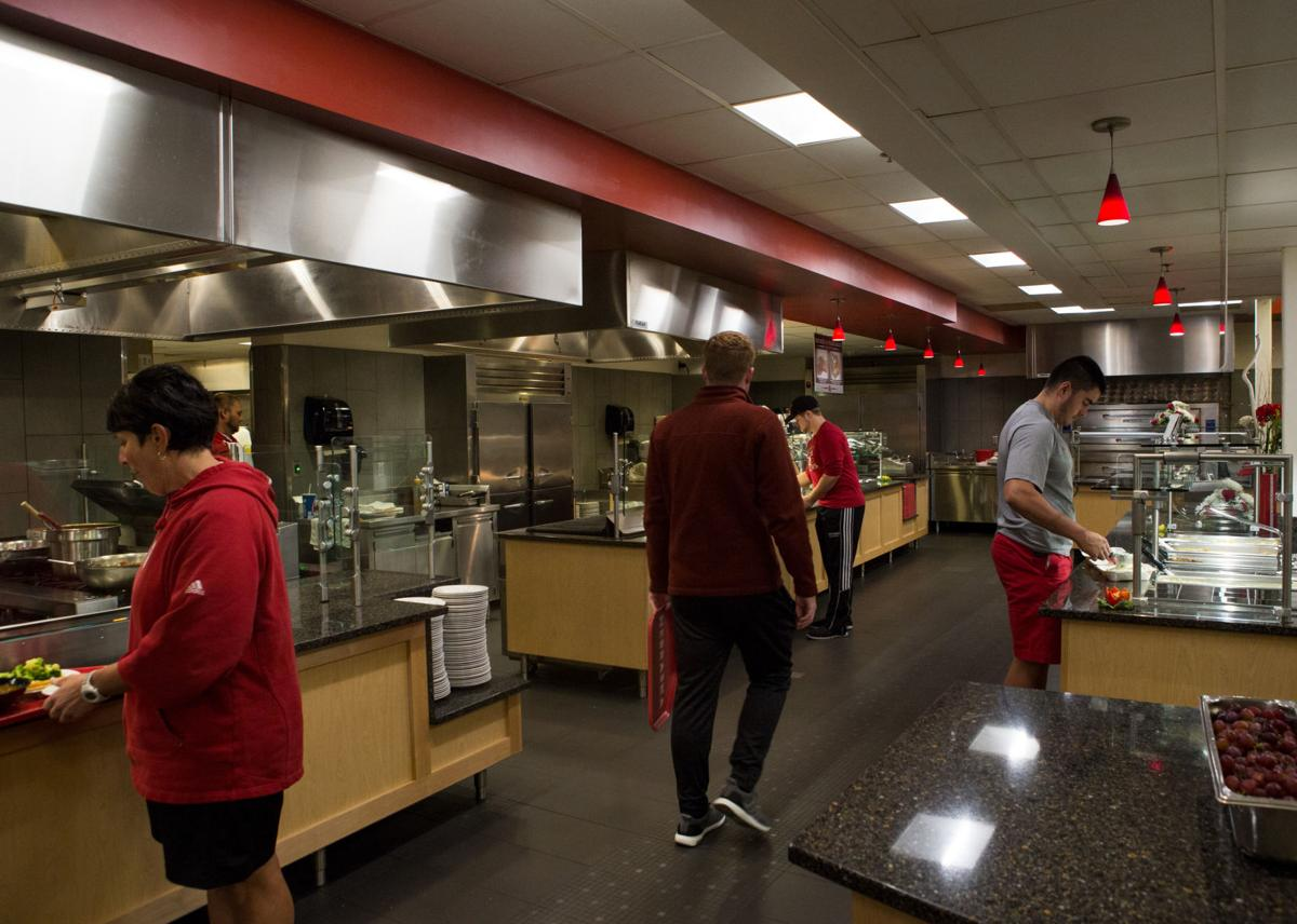 Performance Nutrition Department Helps All Students Reach Health - Training table restaurant