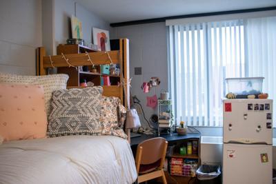 Abel Hall Dorm Room