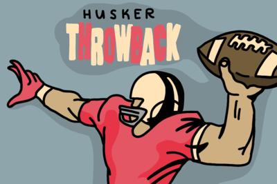 Husker Throwback Art
