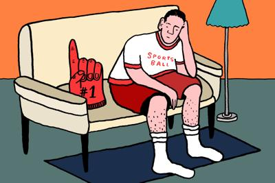 Sports staff life without sports art