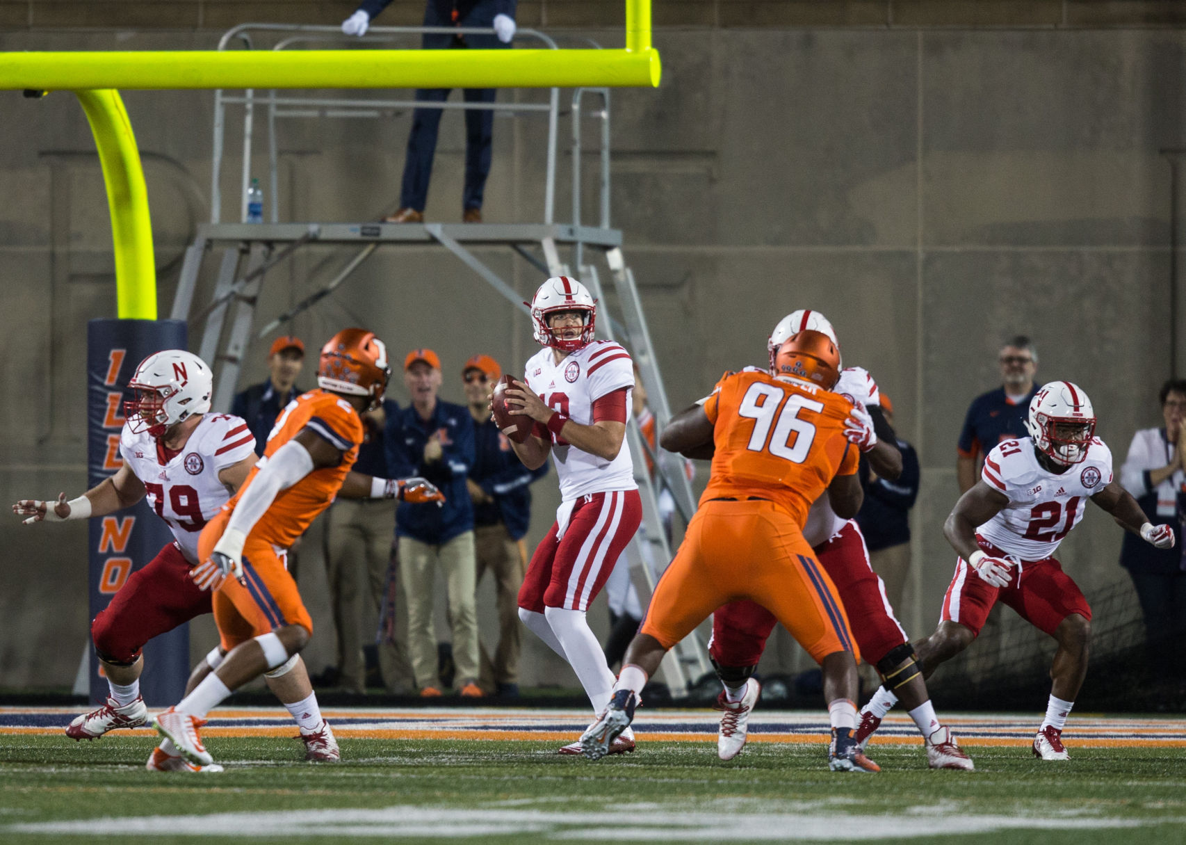 Nebraska visits IL in first B1G road test