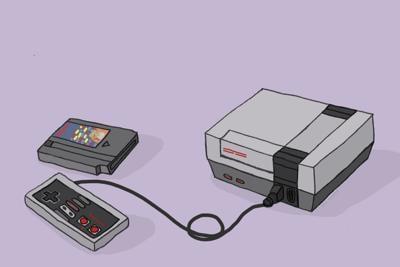 Retro Games art