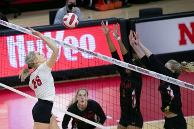 Nebraska Volleyball vs. Maryland Photo No. 10