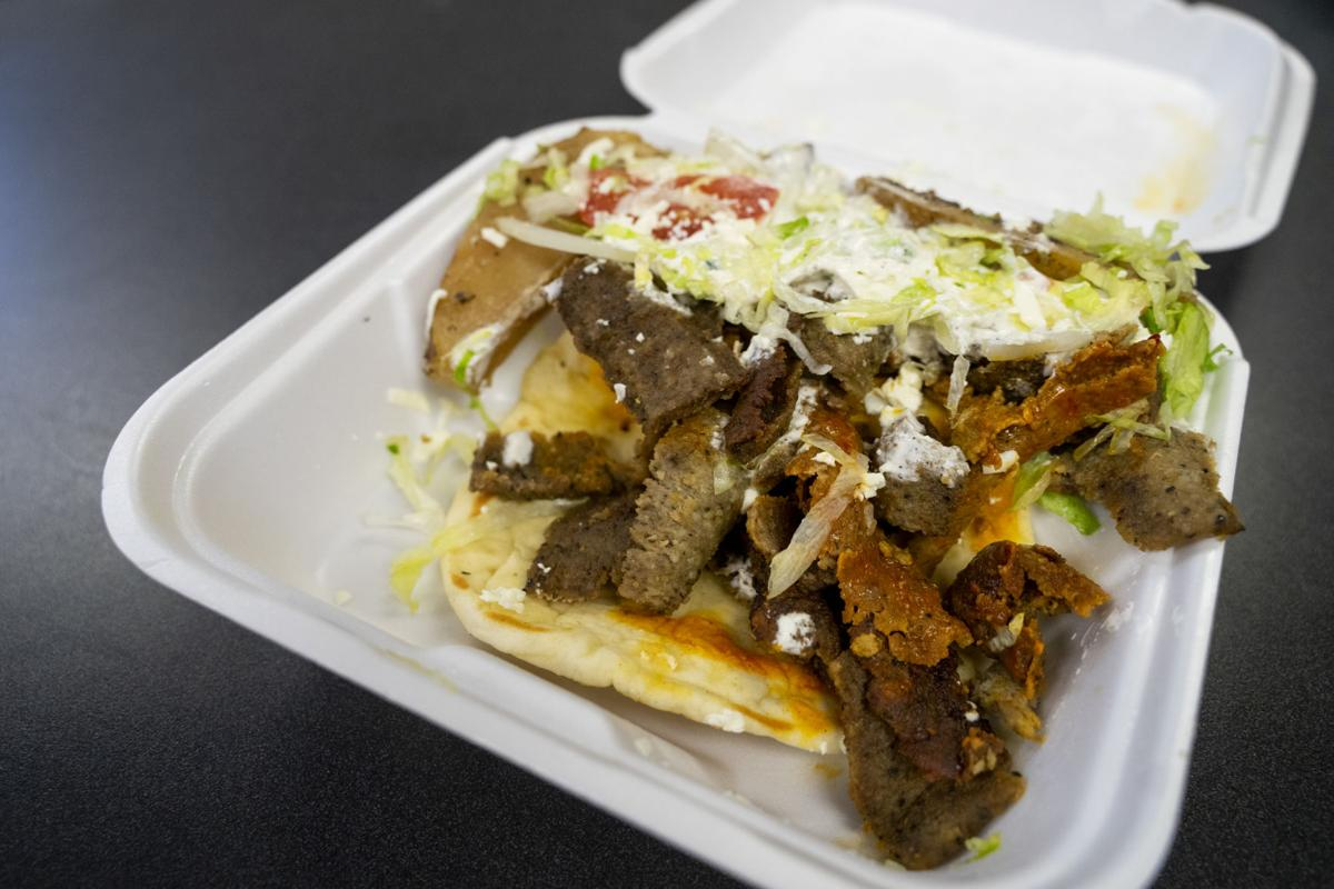 George's Gourmet Grill gyro