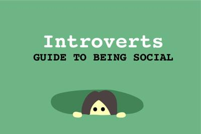 """""""5 Tips to Help Introverted College Students Be More Social"""" - Art"""