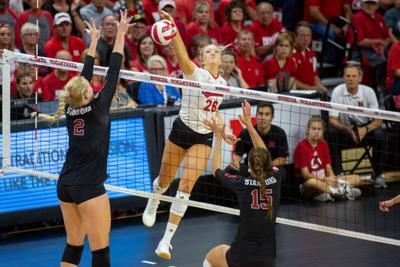Nebraska Volleyball vs. Stanford Photo No. 2