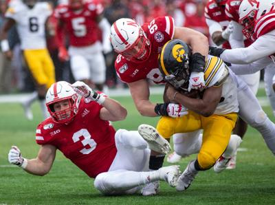 Nebraska Football vs. Iowa Photo No. 23