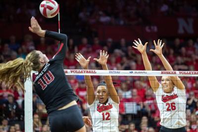 Nebraska Volleyball vs. Stanford Photo No. 6