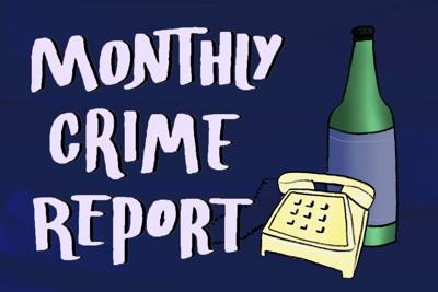 Monthly Crime Report Art