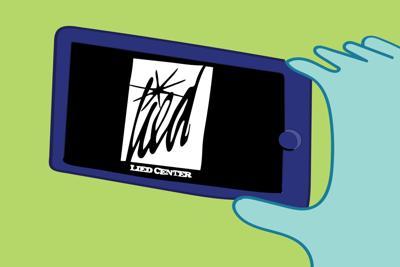 Lied Center phone art