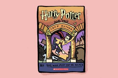 J.K. Rowling Controversy art