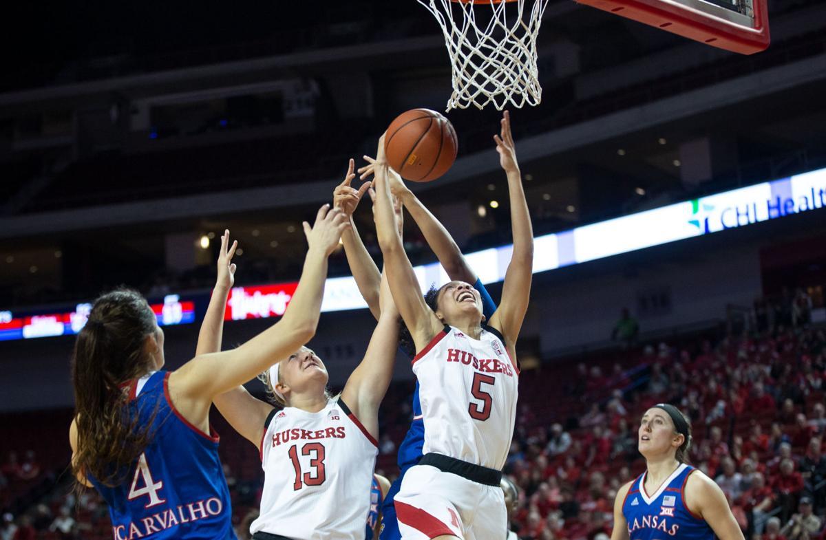 Women's Basketball vs. Kansas Photo No. 4