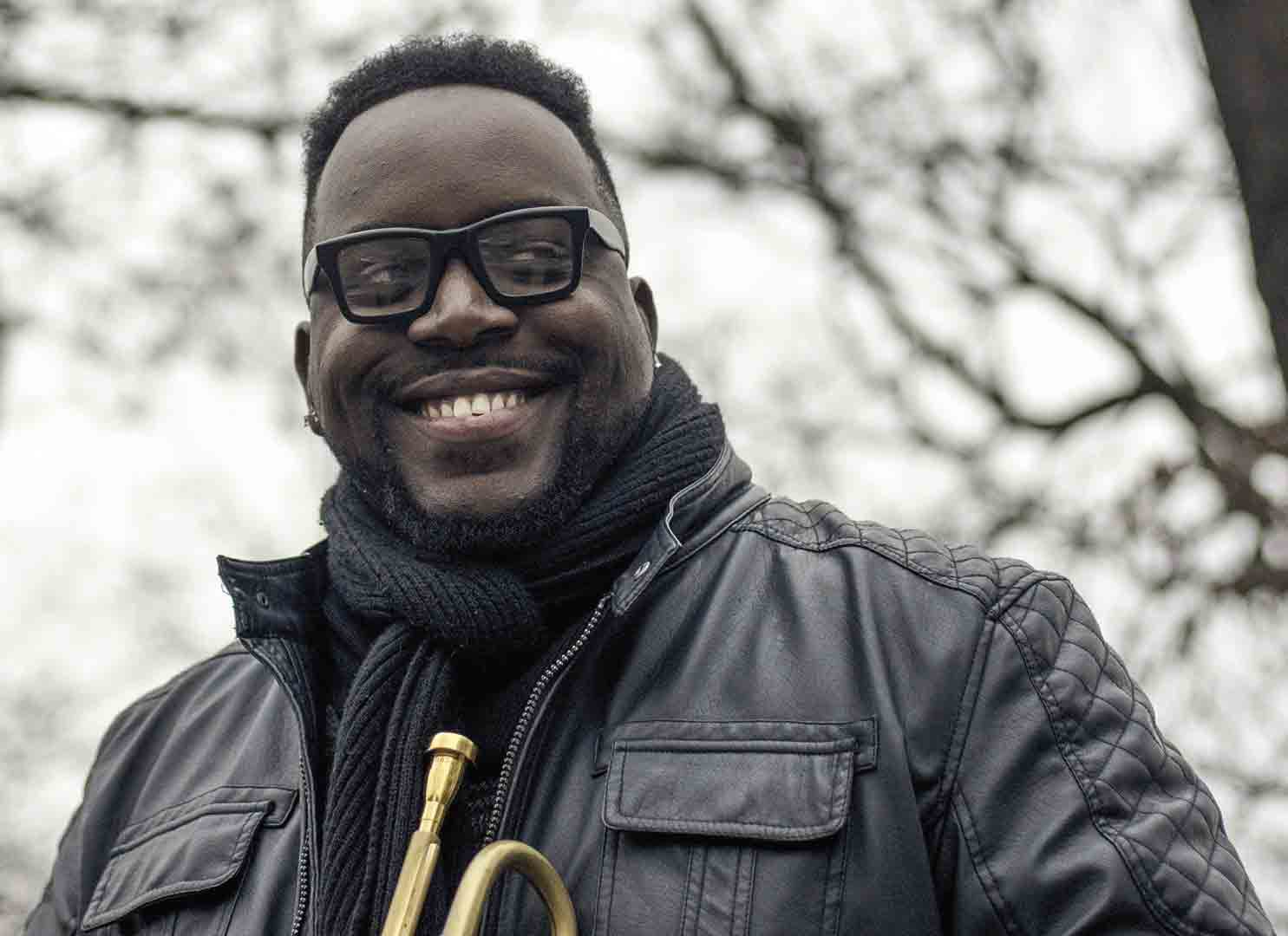 Marquis Hill mixes jazz styles with African American music in his band Blacktet