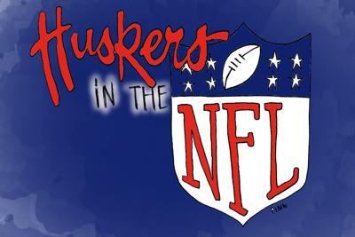 Huskers in the NFL Art