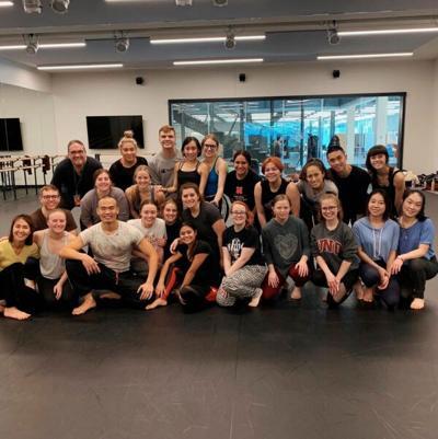 Dance program photo