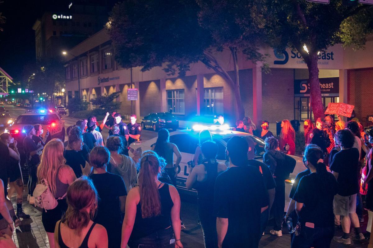 FIJI Protest Night 4 Photo No. 12