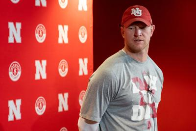 Scott Frost Press Conference Photo