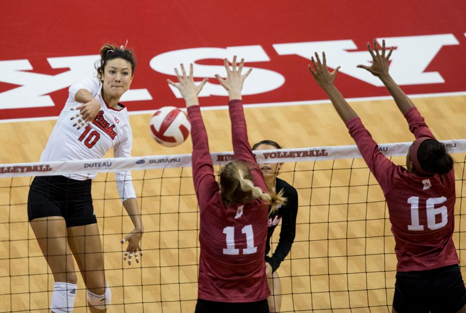 Nebraska volleyball falls to No. 3 Minnesota 3-1 for third ...