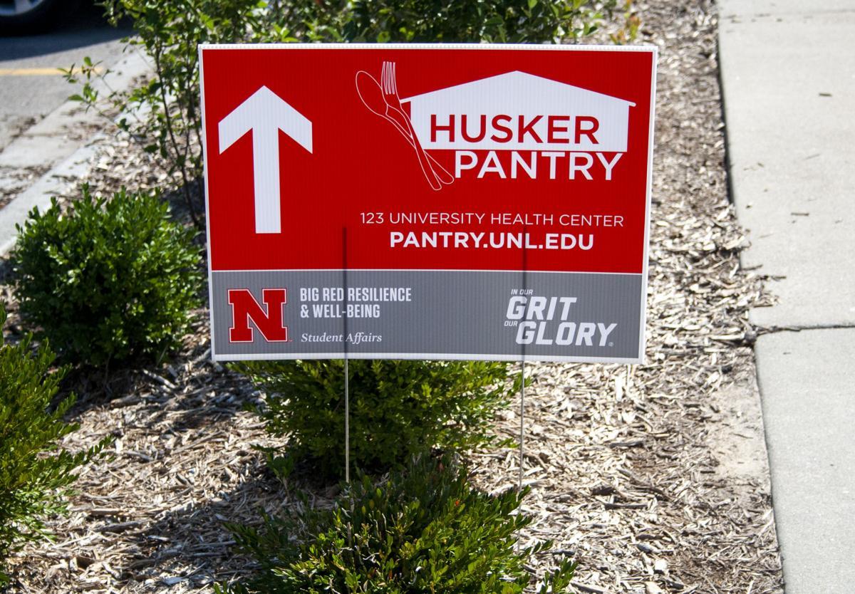 Husker Pantry Sign