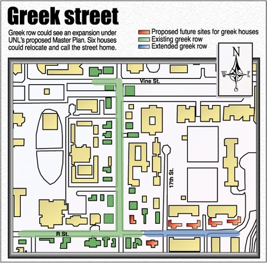 Unl S Master Plan Calls For Expansion Of Greek Row