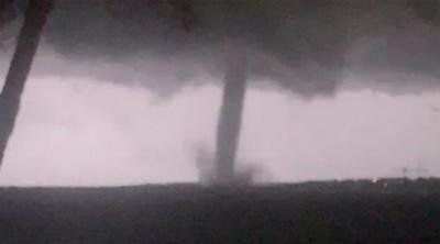Tornado rips through Dallas causing untold damage and leaving 140k without power