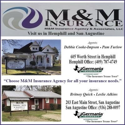 M&M Insurance open at three locations, call and let us help you with all your insurance needs