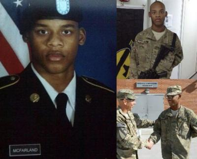 U.S. Army Specialist and Jasper native Jacoby McFarland has died